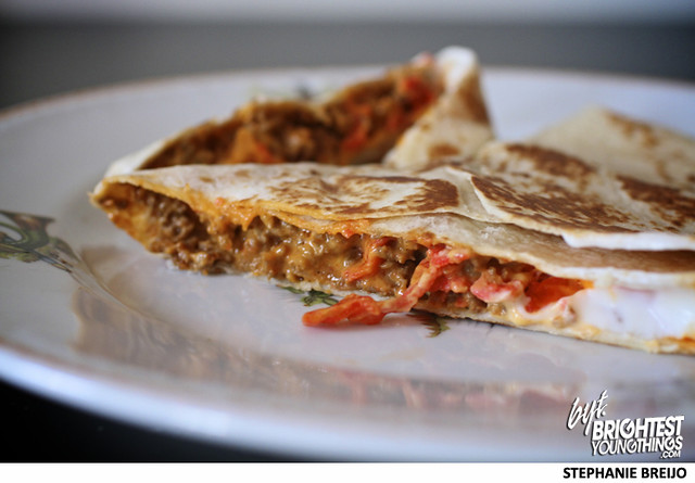 Taco Bell Stuft Nachos Taste Test MTN Dew Baja Blast Photos Brightest Young Things Stephanie Breijo3