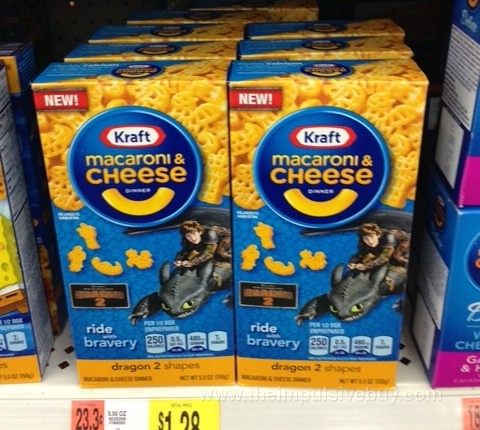 Kraft Macaroni & Cheese Dragon 2 Shapes