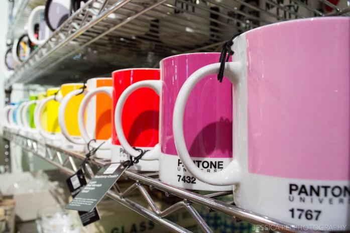 Pantone Rainbow Color Mugs