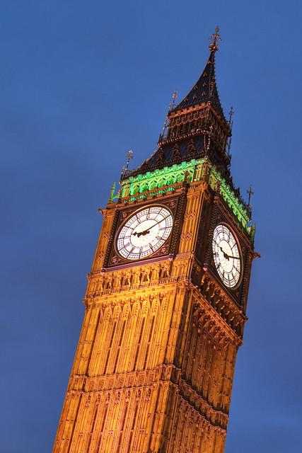 Elizabeth Tower - HDR 'Natural' Preset