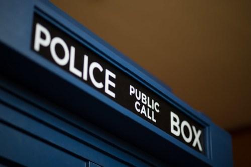TARDIS close up