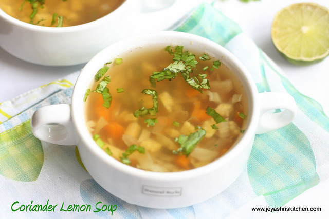Coriander-lemon-soup