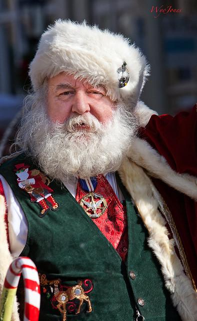 Santa on The Strand