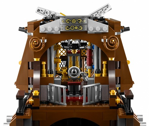 The LEGO Movie 70810 MetalBeard's Sea Cow features 2