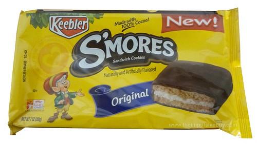 Keebler S'mores Original Sandwich Cookies