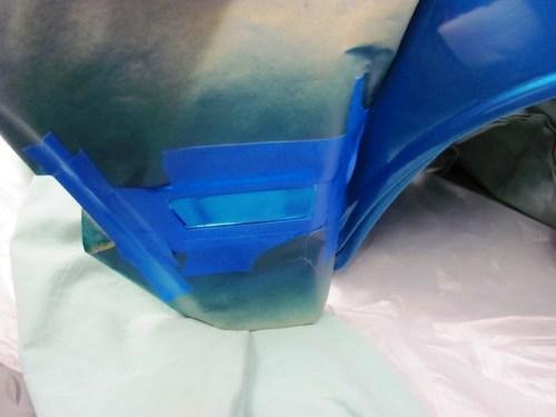 Color Test: Duplicolor Metalcast Series, Blue