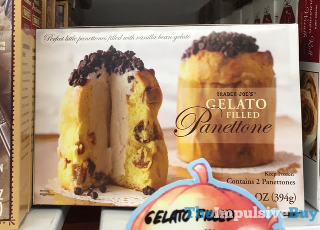 Trader Joe's Gelato Filled Panettone