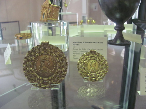 Medallions of Honorius and Galla Placidia