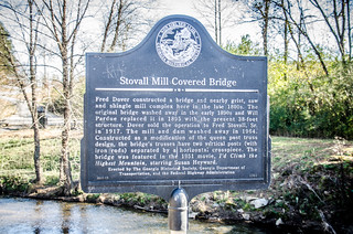 Stovall Bridge Covered Bridge-001
