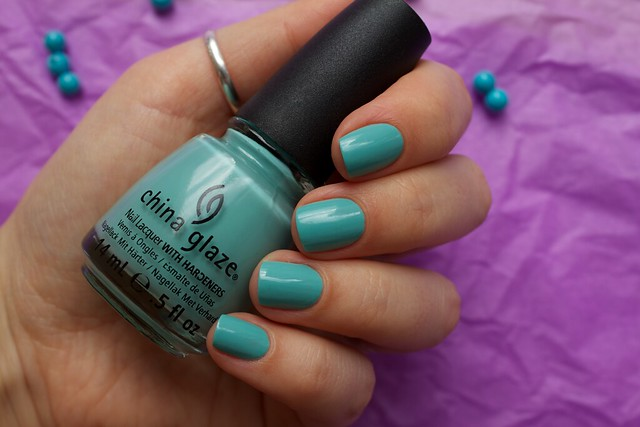 07 China Glaze For Audrey swatches