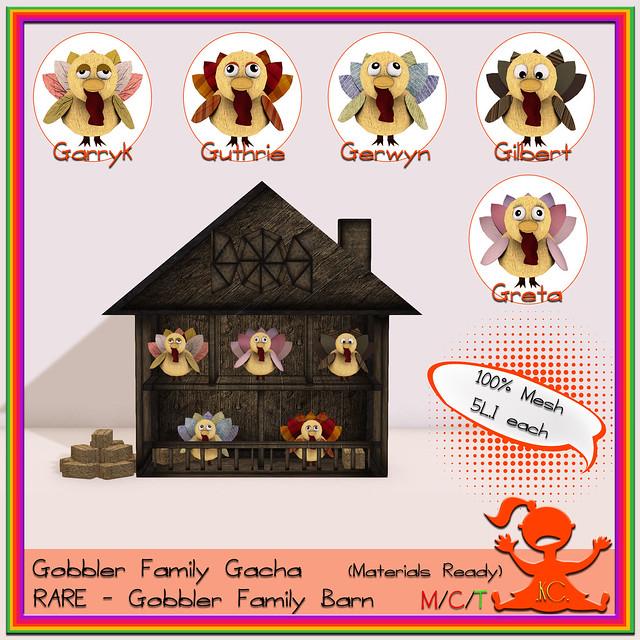 Kidz Clozet - Gobbler Family Gacha
