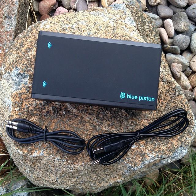 Blue Piston Amplify Near Field Audio Speaker - 1