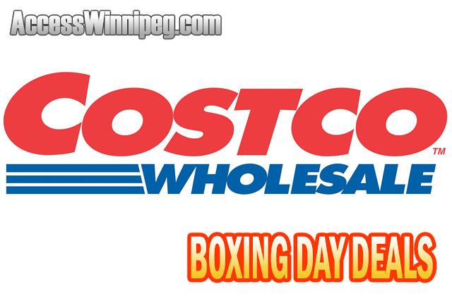 Costco Boxing Day Deals 2019