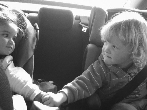 Day 23/365 - Best friends overcome by the excitement of driving in the same car together. by nikki.j.thorpe