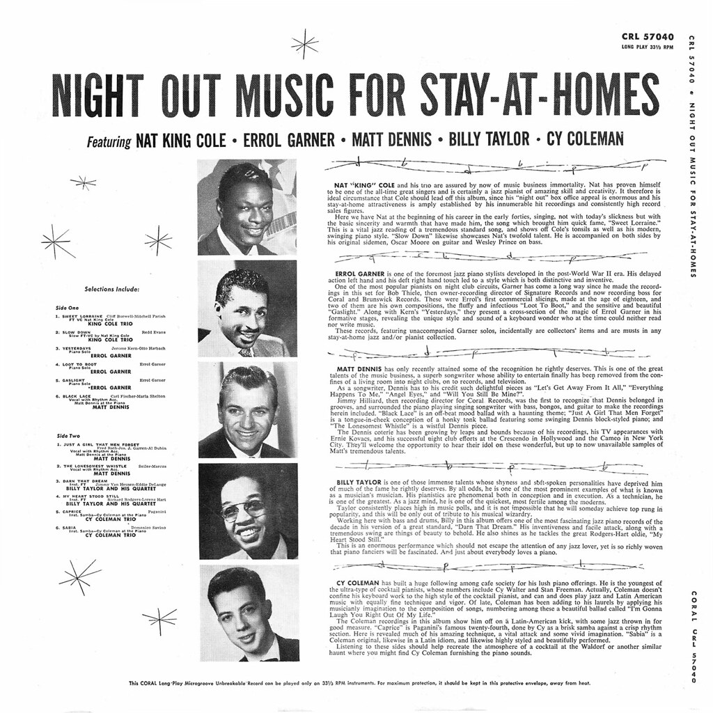 Various Artists - Night Out Music for Stay-at-Homes