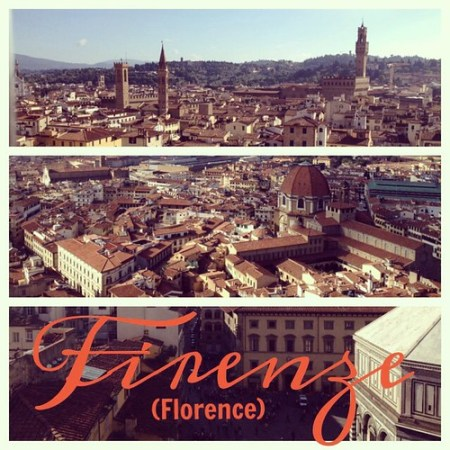 Firenze!!! (This is coming a bit late, as it's been days since I've had Internet access.) #florence #italy #travel