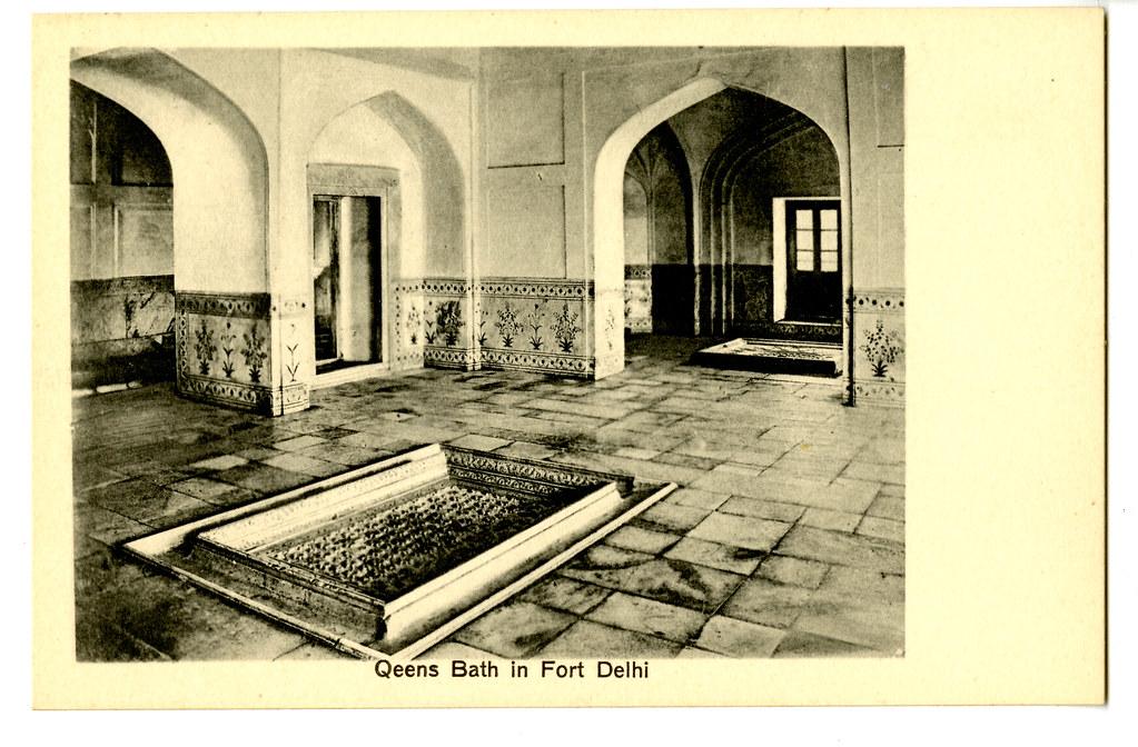 Queen's Bathroom in Fort Delhi