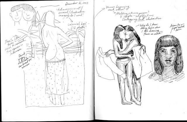 Sara Bloem Sketchbook Pages