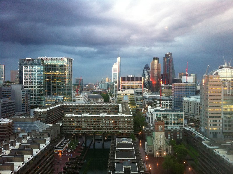 London Skyline from Barbican