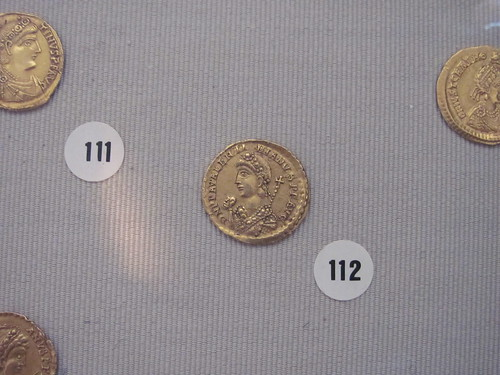 Coin of Valentinian III
