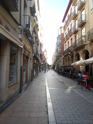 Logrono on Sunday Afternoon