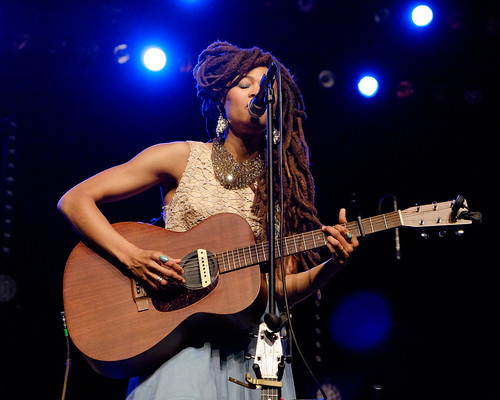 """Time tells all, but we only get a little slice of it... Then we gotta change"" #ValerieJune"