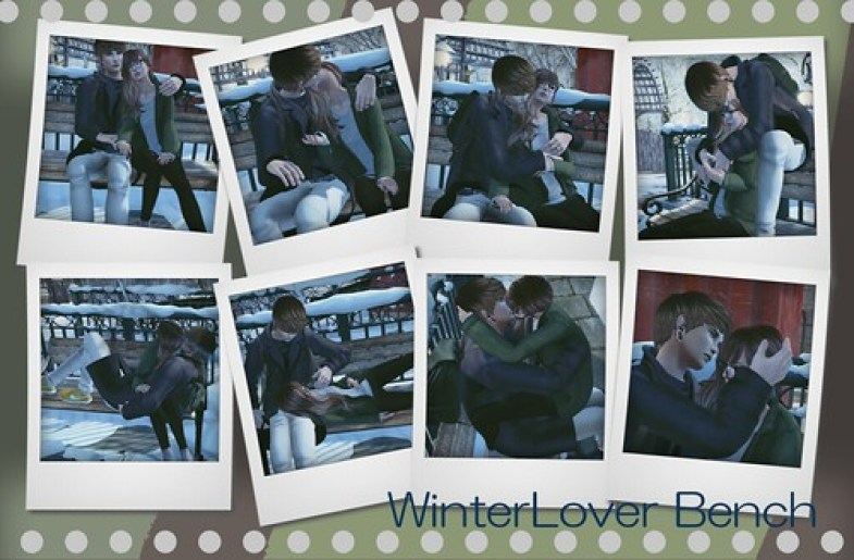 WinterLover Bench COUPLE ANIMATION