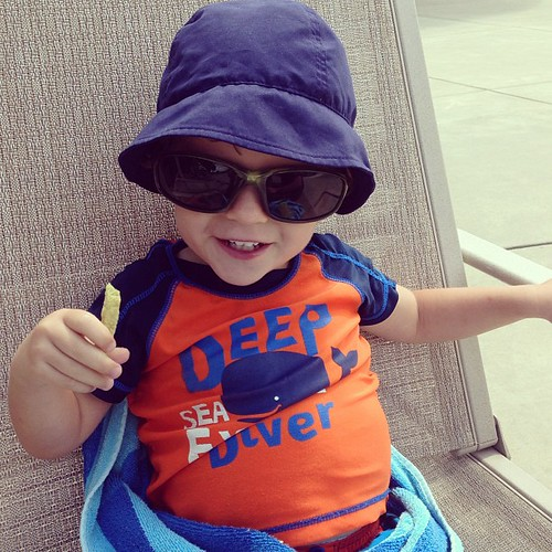 Too cool at the pool