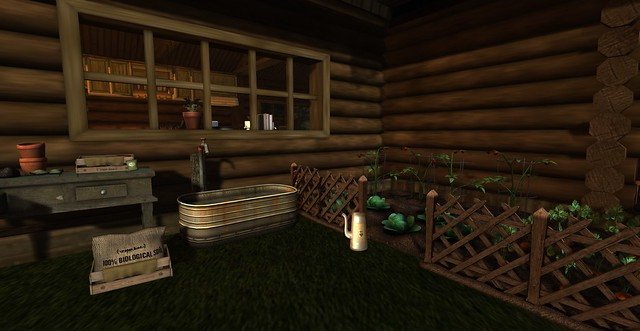 Rustic Lodge: Kitchen Garden