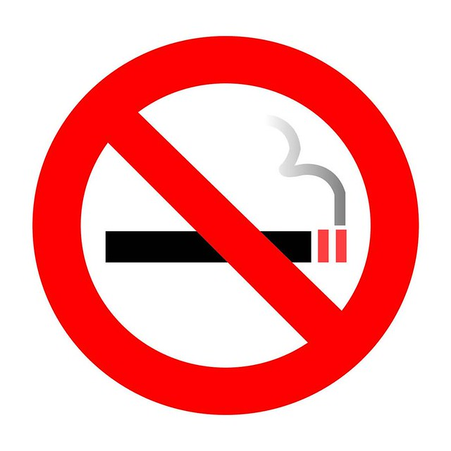 8. No Smoking