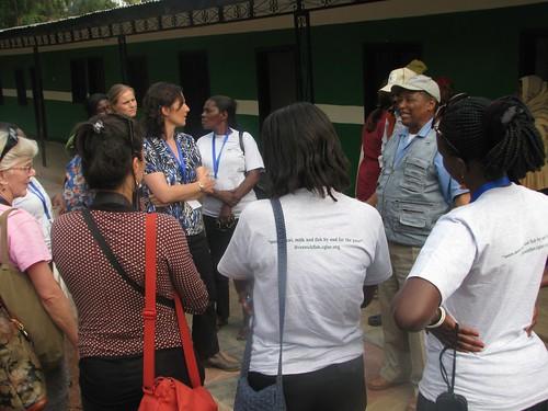 Vistiting Gadisa Gobena Dairy Farm, input shop and farmer training center