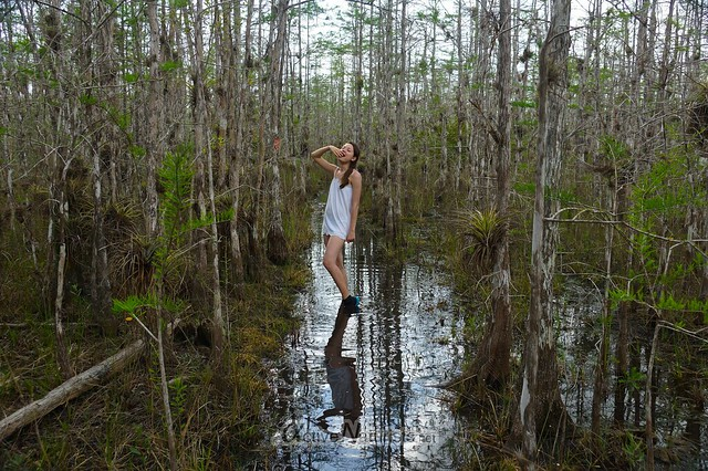 naturist 0005 Big Cypress Preserve, Florida, USA