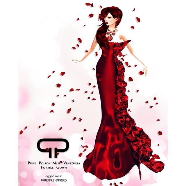Pure Poison - Miss Venezuela Gown