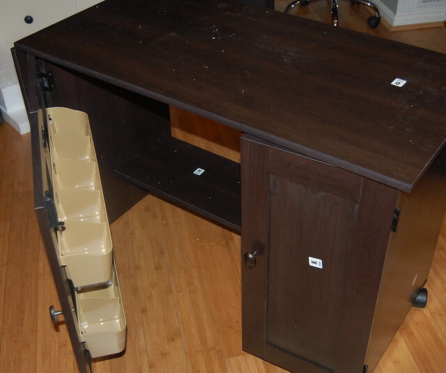 Sauder sewing/craft cart