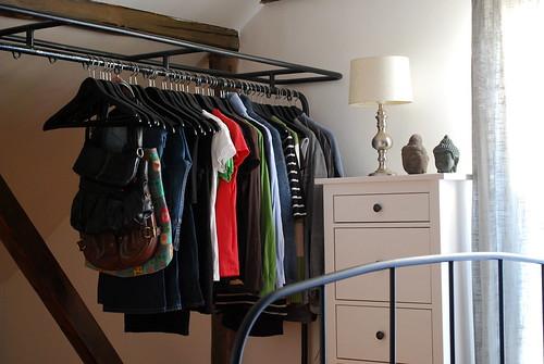 Vaatteiden säilyttäminen