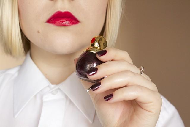 01 Chanel Rouge Allure #14 Passion + Dior Diorific #995 Minuit