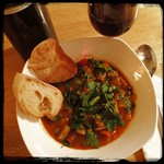 #BeefStew w/ crusty Italian bread and Red #Wine on a chilly evening. Yup ;-)