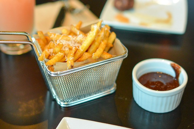 Duck Fat Fries chocolate ketchup