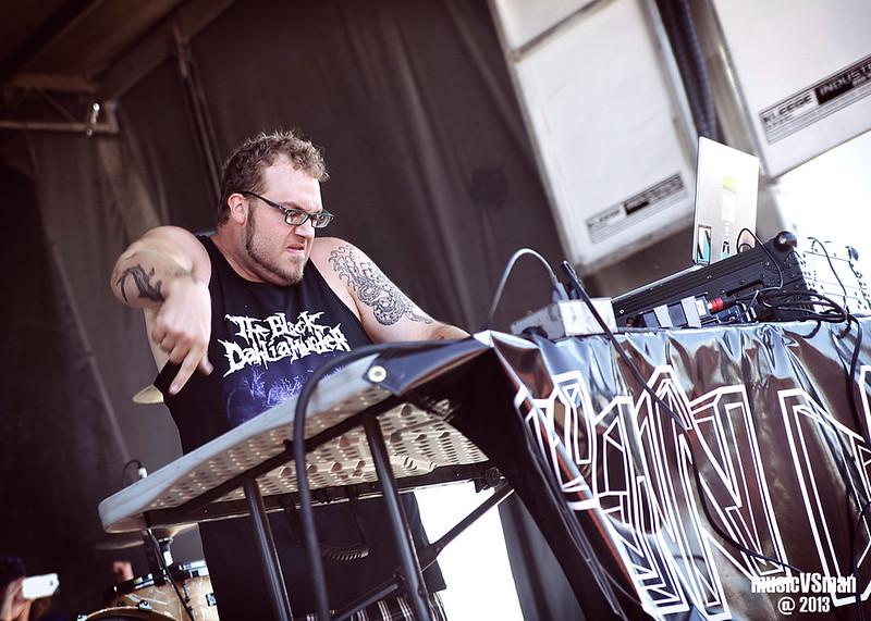 Run DMT @ Warped Tour 2013