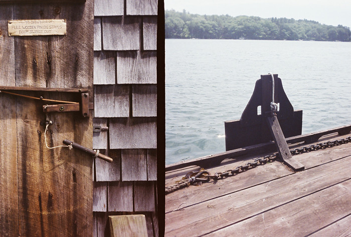 Maine Through A Golden Half Camera 8