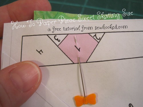 How To Paper Piece Sweet Skating Sue