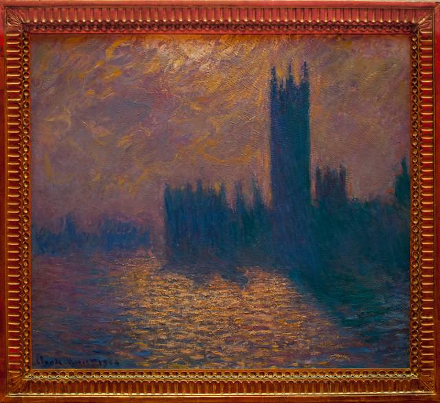 London Parliament, Claude Monet, Lille, France, Le Palais Des Beaux Arts