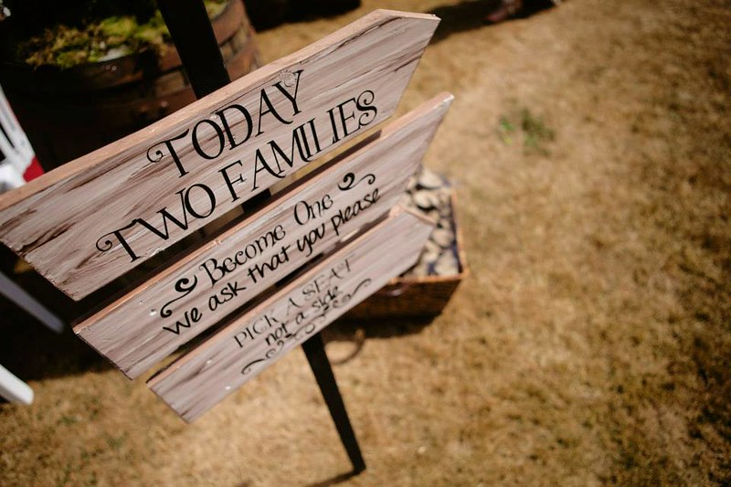 two families sign