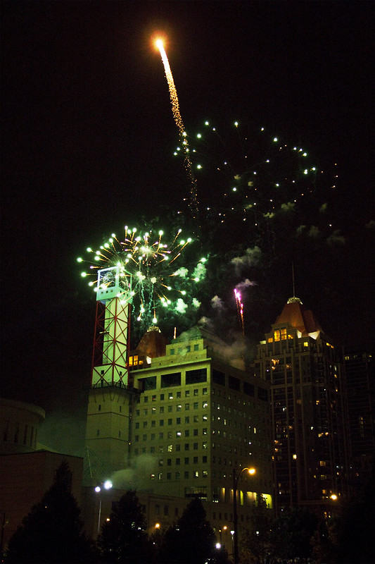 Fireworks @ Celebration Square