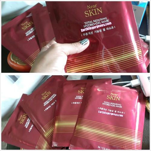Missha Near Skin Total RepairingHydro-Gel Mask review by Earthlingorgeous