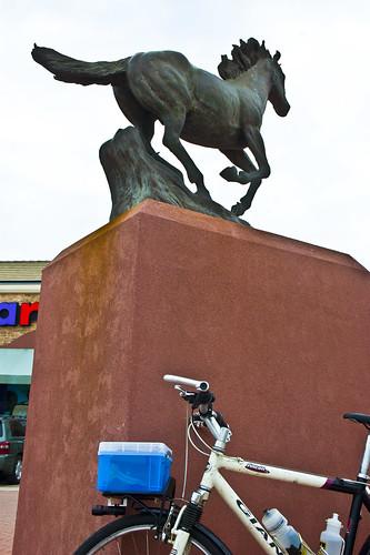 12) Horse Sculpture