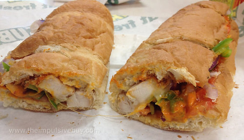 Subway Sriracha Chicken Melt