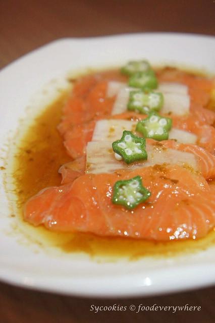 3.yuu-jo -Salmon Carpaccio (2)_