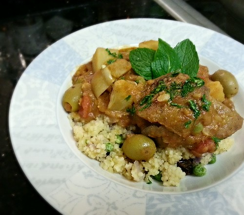 Moroccan lamb stew by pipsyq