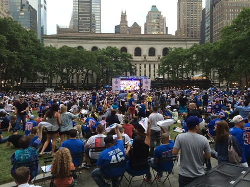 NY Rangers Viewing Party at Bryant Park
